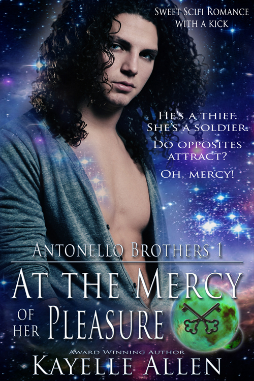At the Mercy of Her Pleasure #scifi #romance @kayelleallen