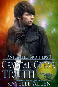 Crystal Clear Truth #scifi #romance by @kayelleallen