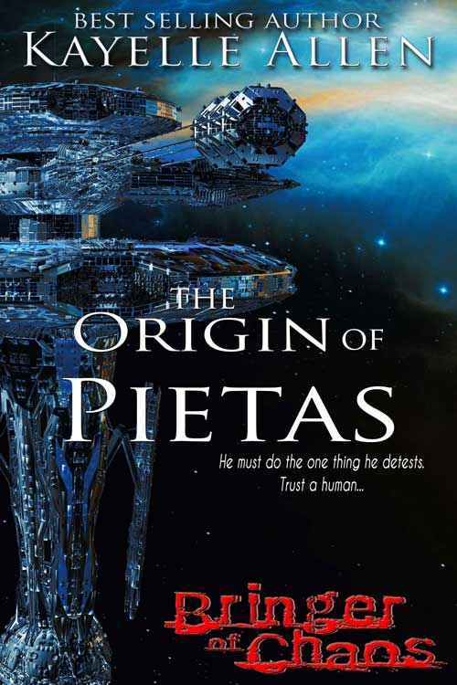 Pietas must do the one thing he detests. Trust a human. #SciFi #Pietas #SpaceOpera