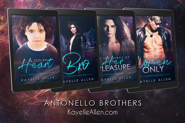 The Antonello Brothers #SciFi #Romance